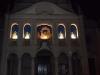 Natale 2012 presepe sulle logge della chiesa