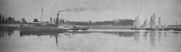 Attraversare il po for Cabine bon ton roulet sul fiume